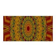 India Mystic Background Ornamental Satin Wrap by Nexatart