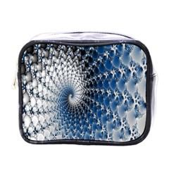 Mandelbrot Fractal Abstract Ice Mini Toiletries Bags