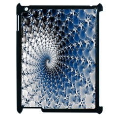 Mandelbrot Fractal Abstract Ice Apple Ipad 2 Case (black)