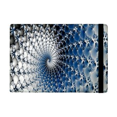 Mandelbrot Fractal Abstract Ice Apple Ipad Mini Flip Case by Nexatart