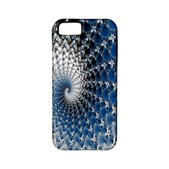 Mandelbrot Fractal Abstract Ice Apple Iphone 5 Classic Hardshell Case (pc+silicone)