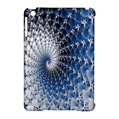 Mandelbrot Fractal Abstract Ice Apple Ipad Mini Hardshell Case (compatible With Smart Cover)