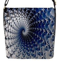 Mandelbrot Fractal Abstract Ice Flap Messenger Bag (s)