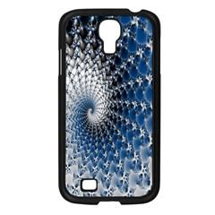 Mandelbrot Fractal Abstract Ice Samsung Galaxy S4 I9500/ I9505 Case (black)