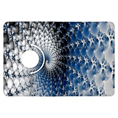 Mandelbrot Fractal Abstract Ice Kindle Fire Hdx Flip 360 Case