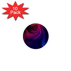 Abstract Pattern Art Wallpaper 1  Mini Buttons (10 Pack)