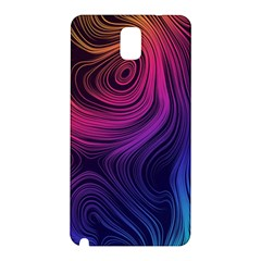 Abstract Pattern Art Wallpaper Samsung Galaxy Note 3 N9005 Hardshell Back Case