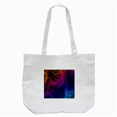Abstract Pattern Art Wallpaper Tote Bag (white)