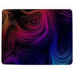 Abstract Pattern Art Wallpaper Jigsaw Puzzle Photo Stand (rectangular)