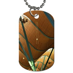 Airport Pattern Shape Abstract Dog Tag (two Sides)