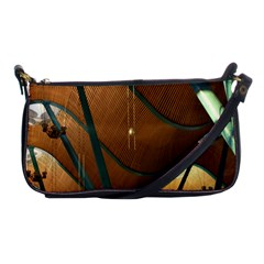 Airport Pattern Shape Abstract Shoulder Clutch Bags