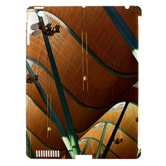 Airport Pattern Shape Abstract Apple Ipad 3/4 Hardshell Case (compatible With Smart Cover)