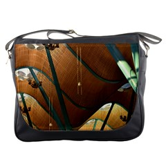 Airport Pattern Shape Abstract Messenger Bags