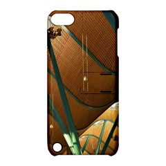 Airport Pattern Shape Abstract Apple Ipod Touch 5 Hardshell Case With Stand