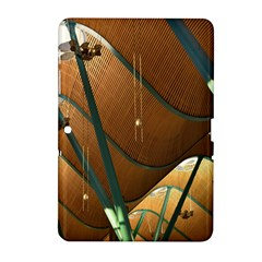 Airport Pattern Shape Abstract Samsung Galaxy Tab 2 (10 1 ) P5100 Hardshell Case