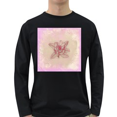Desktop Background Abstract Long Sleeve Dark T Shirts