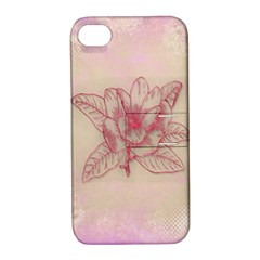 Desktop Background Abstract Apple Iphone 4/4s Hardshell Case With Stand