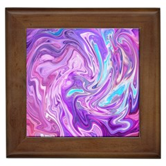 Abstract Art Texture Form Pattern Framed Tiles