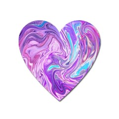 Abstract Art Texture Form Pattern Heart Magnet