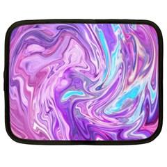 Abstract Art Texture Form Pattern Netbook Case (xxl)