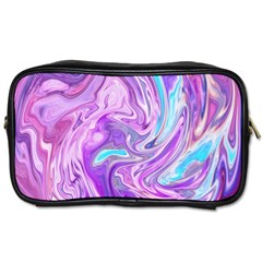 Abstract Art Texture Form Pattern Toiletries Bags 2 Side