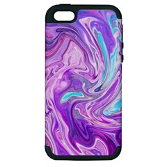 Abstract Art Texture Form Pattern Apple Iphone 5 Hardshell Case (pc+silicone)