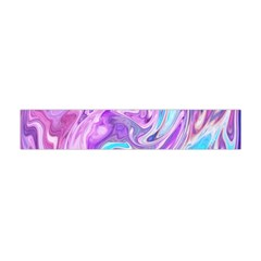 Abstract Art Texture Form Pattern Flano Scarf (mini)