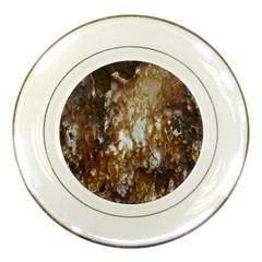 Rusty Texture Pattern Daniel Porcelain Plates by Nexatart