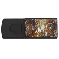 Rusty Texture Pattern Daniel Rectangular Usb Flash Drive