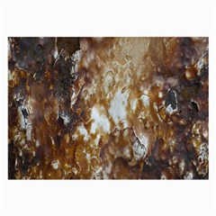 Rusty Texture Pattern Daniel Large Glasses Cloth