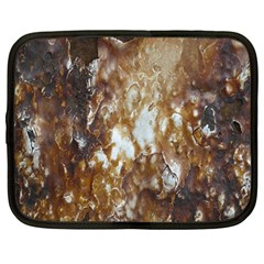 Rusty Texture Pattern Daniel Netbook Case (large)