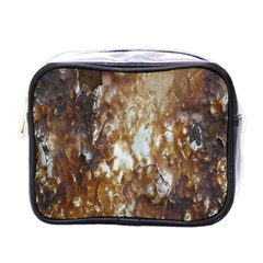 Rusty Texture Pattern Daniel Mini Toiletries Bags