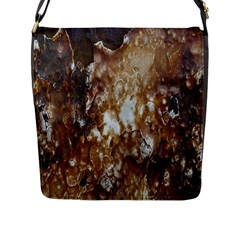 Rusty Texture Pattern Daniel Flap Messenger Bag (l)