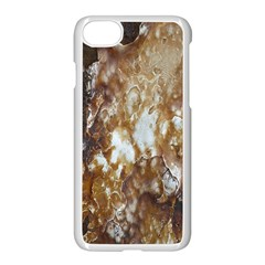 Rusty Texture Pattern Daniel Apple Iphone 7 Seamless Case (white)