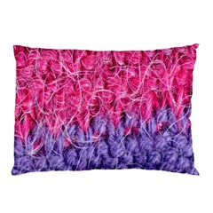 Wool Knitting Stitches Thread Yarn Pillow Case (two Sides)