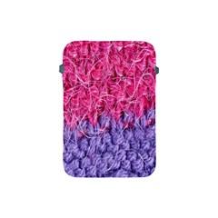 Wool Knitting Stitches Thread Yarn Apple Ipad Mini Protective Soft Cases