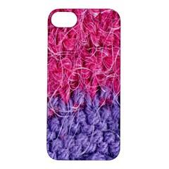 Wool Knitting Stitches Thread Yarn Apple Iphone 5s/ Se Hardshell Case
