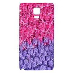 Wool Knitting Stitches Thread Yarn Galaxy Note 4 Back Case