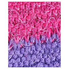 Wool Knitting Stitches Thread Yarn Drawstring Bag (small)