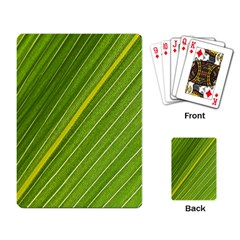 Leaf Plant Nature Pattern Playing Card