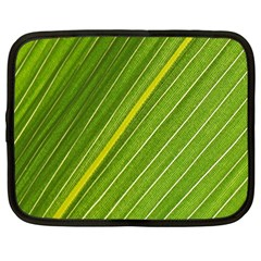 Leaf Plant Nature Pattern Netbook Case (large)