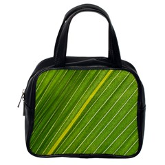 Leaf Plant Nature Pattern Classic Handbags (one Side)
