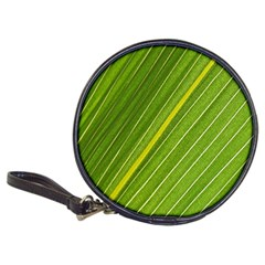 Leaf Plant Nature Pattern Classic 20 Cd Wallets