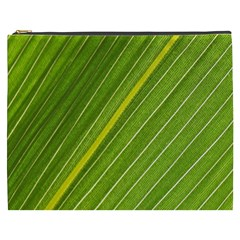 Leaf Plant Nature Pattern Cosmetic Bag (xxxl)