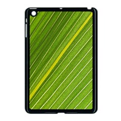 Leaf Plant Nature Pattern Apple Ipad Mini Case (black)