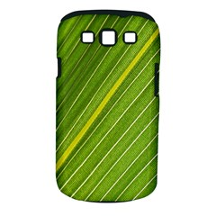 Leaf Plant Nature Pattern Samsung Galaxy S Iii Classic Hardshell Case (pc+silicone) by Nexatart