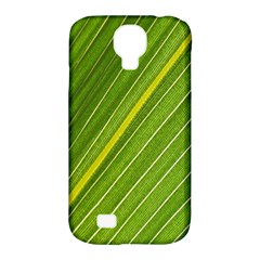 Leaf Plant Nature Pattern Samsung Galaxy S4 Classic Hardshell Case (pc+silicone)