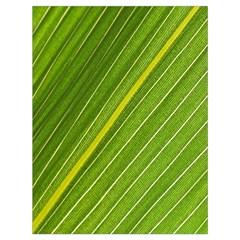 Leaf Plant Nature Pattern Drawstring Bag (large) by Nexatart