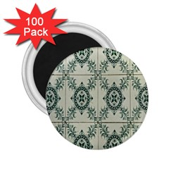 Jugendstil 2 25  Magnets (100 Pack)