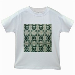 Jugendstil Kids White T Shirts